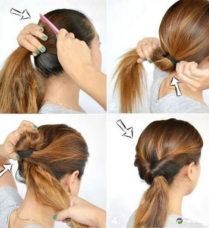 20 красивых и простых причесок на средние волосы 34