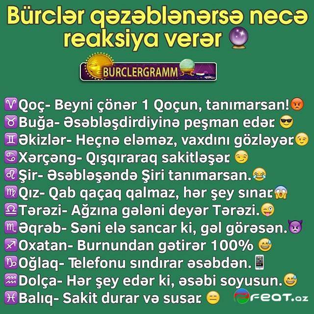 Bürclər Haqqında Maraqlı Məlumatlar (18) - Foto,burcler haqqinda ...
