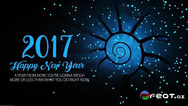 New Year 2016 Quote With Beach Wallpaper Hd: Xos Geldin 2017, Yeni Il,sekilleri,yeni Il Tebrik