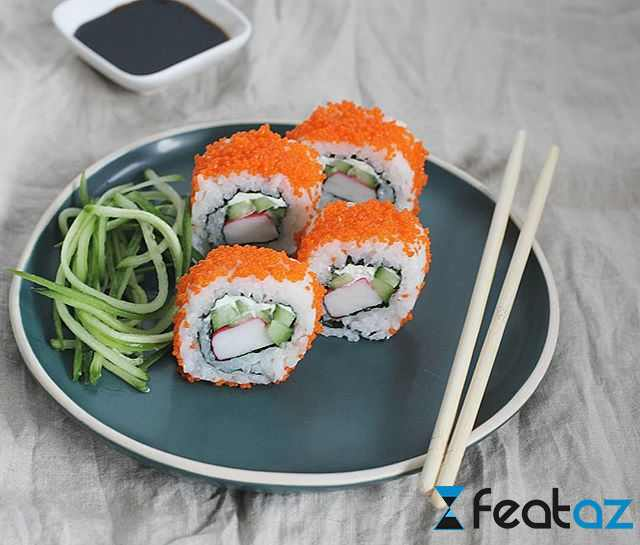 California roll resepti